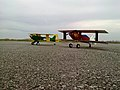 Radio controlled model aircraft at the sporting airport Čepin.jpg