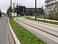 Rails Tramway IdF Ligne 6 Avenue Villacoublay - Meudon (FR92) - 2021-01-03 - 1.jpg