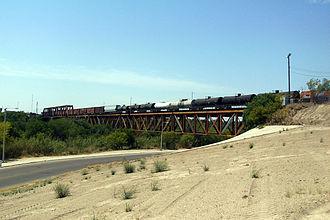 Texas Mexican Railway International Bridge - Image: Railway Bridge
