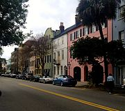 Rainbow Row Charleston