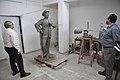 Raj Kapoor Statue In Progress - Kolkata 2017-08-08 4063.JPG