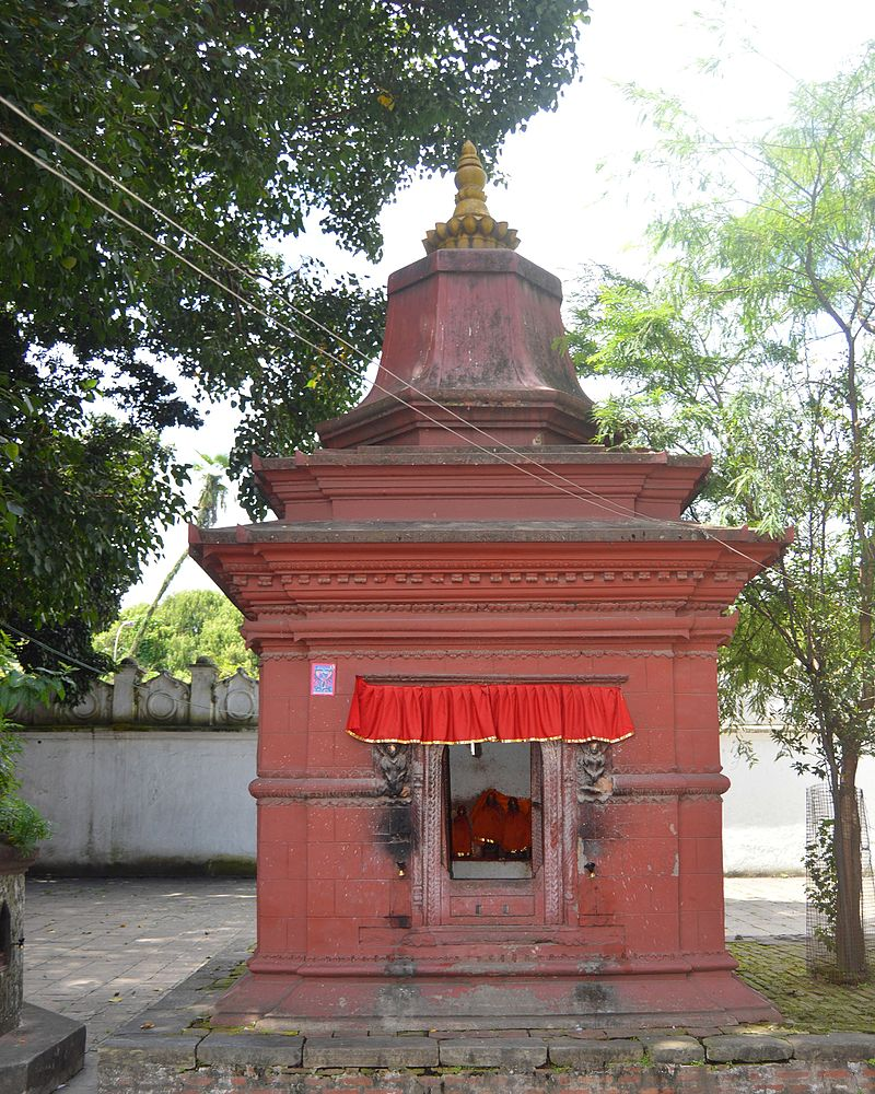 Ram, sita and lakshman Temple on Narayanhiti palace premises.jpg