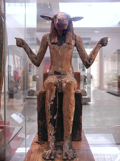Ram-headed demon