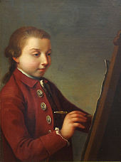 Selbstbildnis (um 1776) (Quelle: Wikimedia)