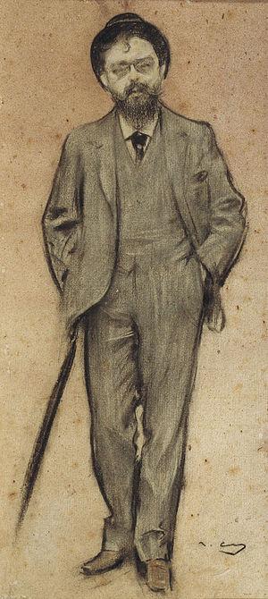 Isaac Albéniz - Albéniz, seen by Ramon Casas (MNAC)