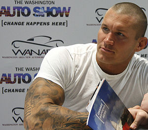 Buzz cut - Image: Randy Orton at the 2010 Washington Auto Show