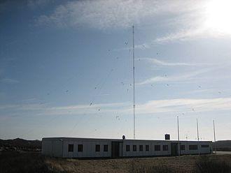 Maritime radionavigation service -  Radionavigation land station (LORAN-C-transmitter Rantum)