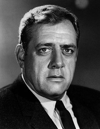 Raymond Burr - Raymond Burr in 1968