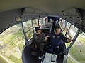 Rear Adm. Matthew Klunder rides the Navy's MZ-3A air ship..jpg