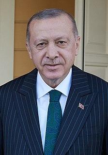 Recep Tayyip Erdoğan 12th president of Turkey