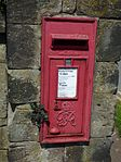 Red post box, Colton Road, Rugeley (34421515171).jpg