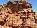 Red sandstone, Hilbre Island.JPG