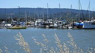Redwood Creek (San Mateo County) - Image: Redwood Creek, RC 2