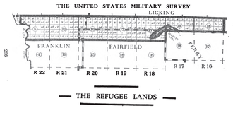 Refugee Tract - Size and Shape of the Refugee Tract
