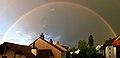 Regenbogen über Wohlen - panoramio.jpg