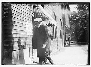 Reginald Claypoole Vanderbilt - Vanderbilt at the Plainfield Riding and Driving Club, 1911