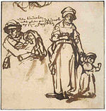 Rembrandt Studies of a Woman with Two Children.jpg