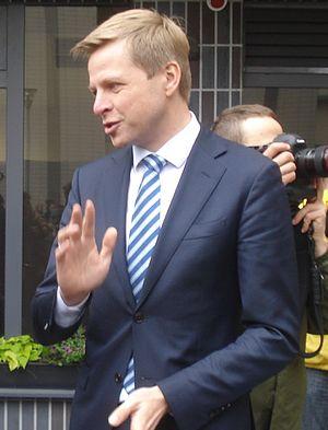 Lithuanian parliamentary election, 2016 - Image: Remigijus Šimašius 1 (cropped)