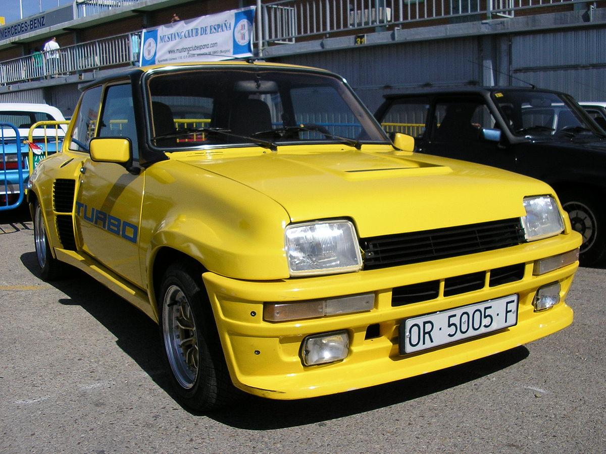 Renault 5 Turbo Wikipedia