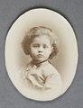 Reproduktion. Porträtt. Ellen som barn - Hallwylska museet - 87058.tif