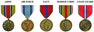 Reserve Good Conduct Medal - Image: Reserve G Cmedals