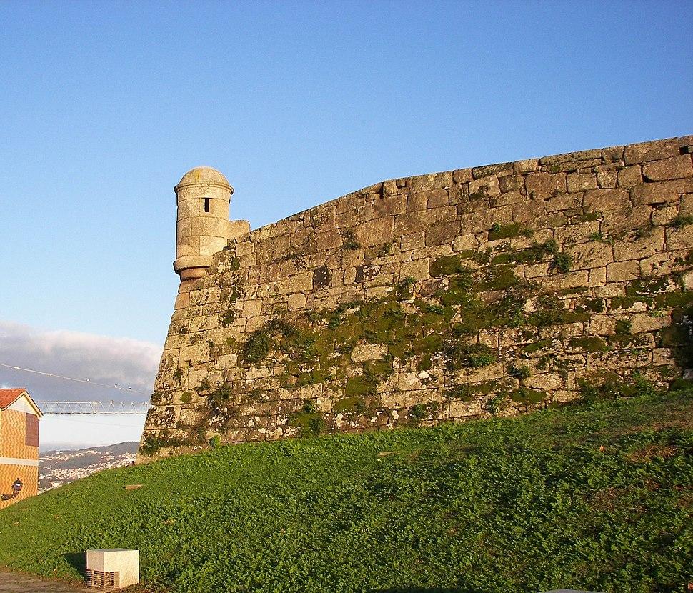 Restos del Castillo de San Sebastian en Vigo Foto Miguel Angel Otero Soliño