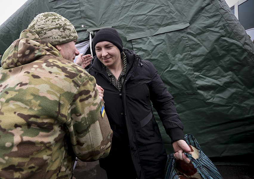 Return of liberated citizens to the territory controlled by Ukraine (2019-12-29) 041.jpg