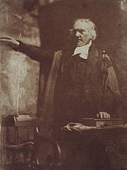 Rev. Thomas Chalmers, 1780 - 1847. Preacher and social reformer (shown preaching).jpg