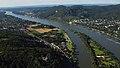 Rhein bei Bad Honnef, Siebengebirge, aus Süden gesehen.jpg