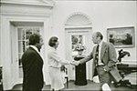 Richard DeVos, Helen DeVos, Gerald Ford (1974) 01.jpg