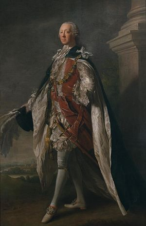 Richard Grenville-Temple, 2nd Earl Temple - Portrait by Allan Ramsay, 1762.