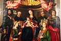 Ridolfo del ghirlandaio e michele tosini, sposalizio mistico di s. caterina e santi, 1525-30 ca. 03.JPG