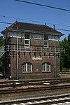 foto van Seinhuis bij Station Roosendaal