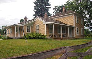 Riley Lucas Bartholomew House - The Riley Lucas Bartholomew House from the northwest