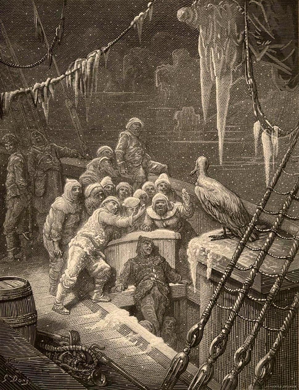 Rime of the Ancient Mariner-Albatross-Dore