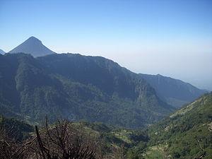 Volcán Siete Orejas - Image: Rio Ocos Watershed, Volcan Siete Orejas