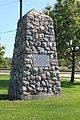 River Raisin Massacre Memorial, 1904, North Dixie Highway ^ East Elm Street, Monroe, Michigan - panoramio (1).jpg