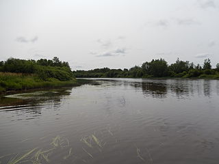 Turgeon River river in Quebec and Ontario, Canada