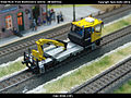 Robel Bullok BAMOWAG 54.22 Track Maintenance Vehicle - DB Bahnbau Kibri 16100 Modelismo Ferroviario Model Trains Modelleisenbahn modelisme ferroviaire ferromodelismo (11695987555).jpg