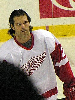 Robert Lang i Detroit Red Wings
