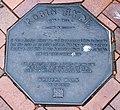 Robin Hydel memorial plaque in Dunedin.jpg