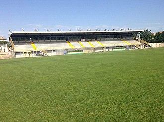 Stadio Enrico Rocchi - Image: Rocchi tribuna campo