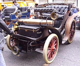 Rochet-Schneider - Image: Rochet Schneider 1899 at Regent Street Motor Show 2011