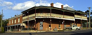 Rockley, New South Wales - The Rockley Hotel, Budden Street, Rockley