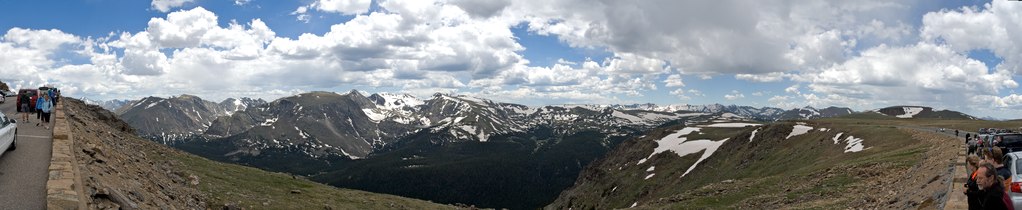 Rocky Mountain National Park Rock Cut Panorama.png