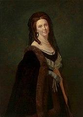 Portrait of Zofia Dzieduszycka