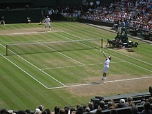 Roger Federer and Rafael Nadal at the 2006 Wimbledon Championships.jpg