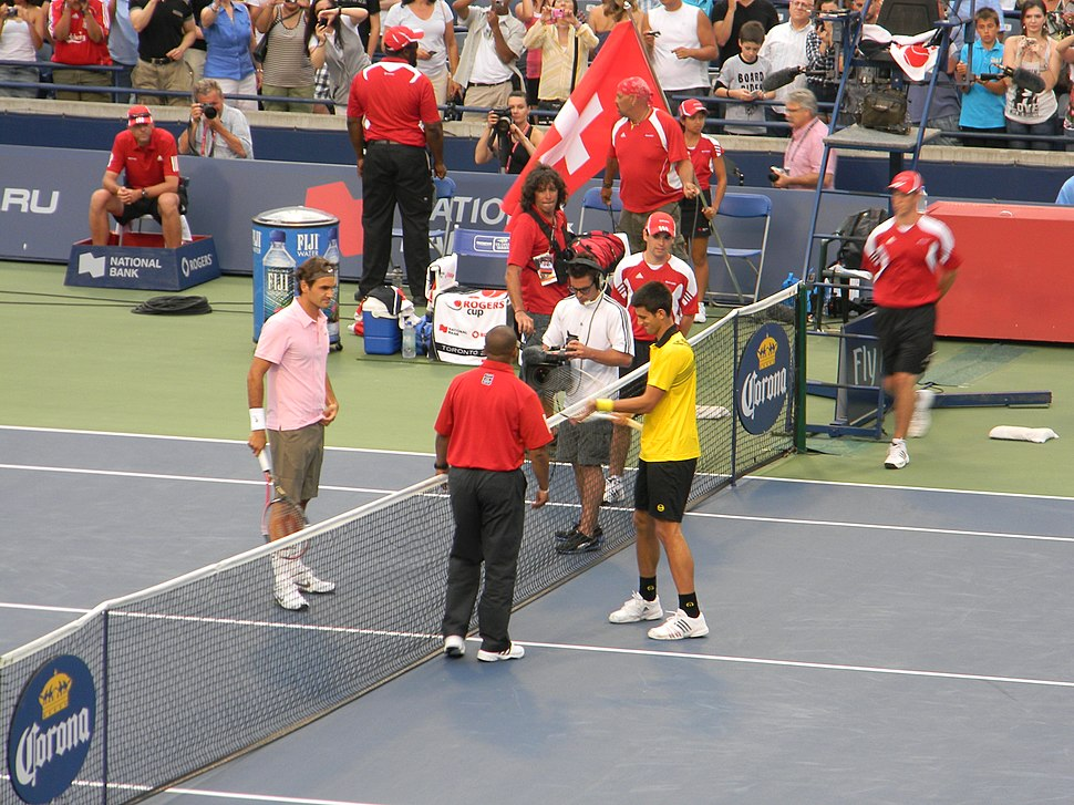 Rogers Cup 2010 Djokovic Federer007