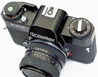 Rolleiflex SL35 SLR cameras from Rolleiflex