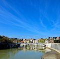 Roma ponte Vittorio da ponte s. Angelo.jpg